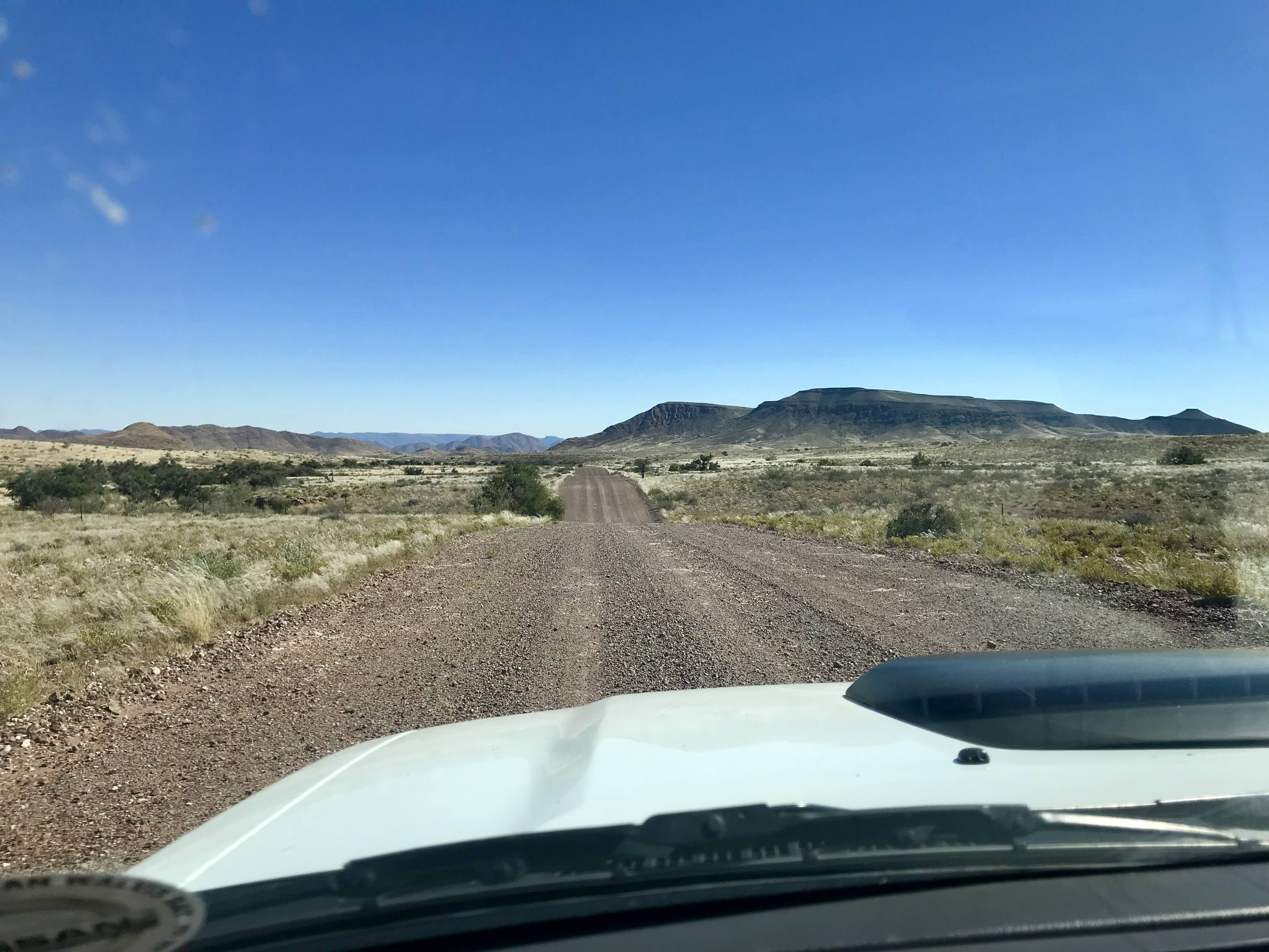 Namibia Self Drive Safari - Driving Tips, Road Conditions + Safety